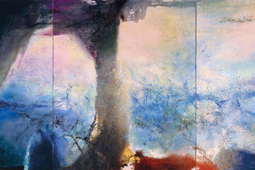 Image: Zao Wou-Ki : L'espace est silence