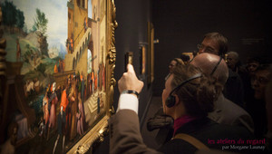 Image: Team building dans un musée parisien