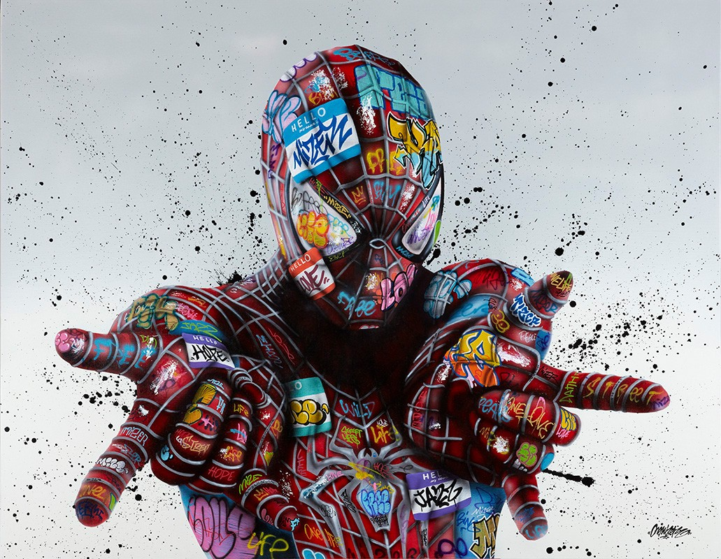 Image: Street art à la galerie Sakura