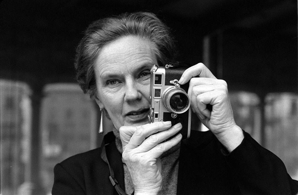 Image: Martine Franck à la Fondation Henri Cartier-Bresson