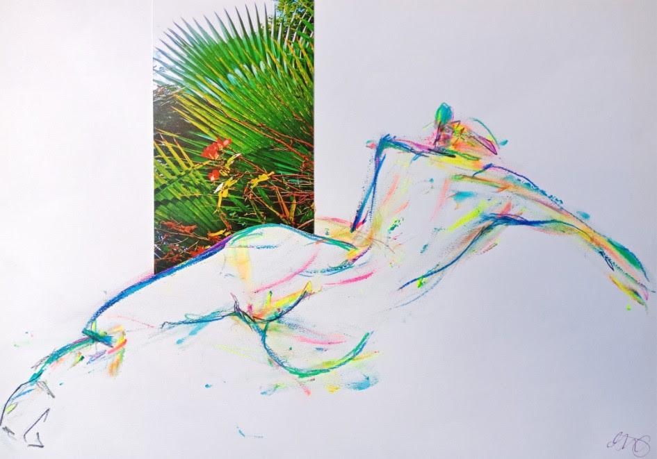 Image: David Dehaineault aux Portes ouvertes des ateliers d'artistes aux Abesses