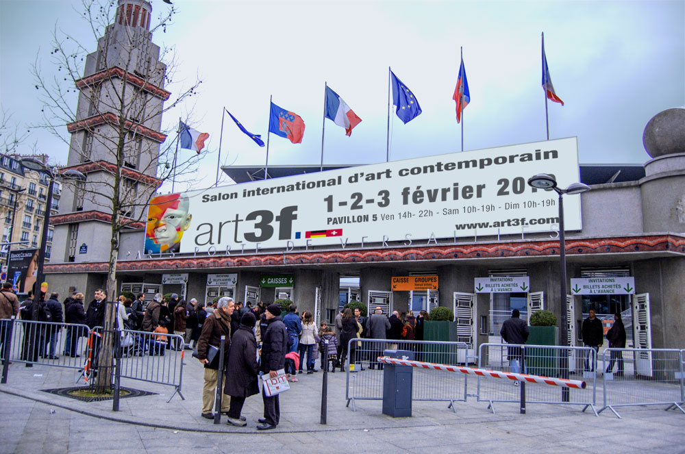 Image: Art 3F revient ce weekend à Paris !