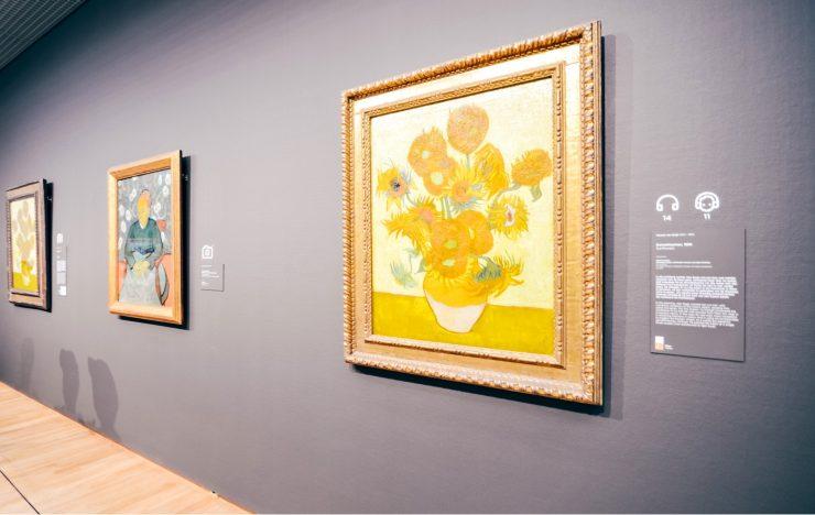 "Image: ""Les Tournesols"" de Vincent Van Gogh interdits de voyage"